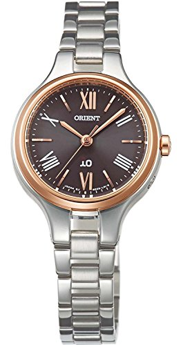 ORIENT watch iO Io Natural and plane Solar Radio Brown WI0131SD Ladies