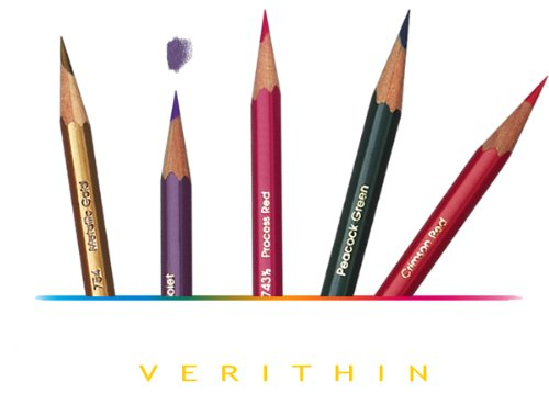 Prismacolor Verithin Colored Crimson 12 Count product image