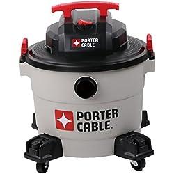 PORTER-CABLE Wet/Dry Vacuum, 9 Gallon, 5 Horsepower - Corded