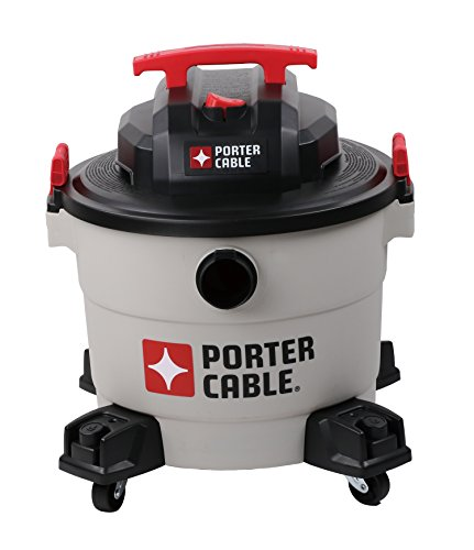 Porter-Cable Wet/Dry Vacuum, 9 Gallon, 5 Horsepower – Corded
