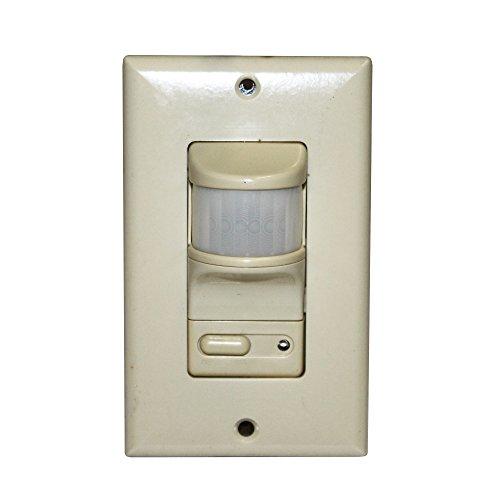 Pass & Seymour OSC3020-I Occupancy Sensor Wall Switch Fluorescent Incandescent Ivory