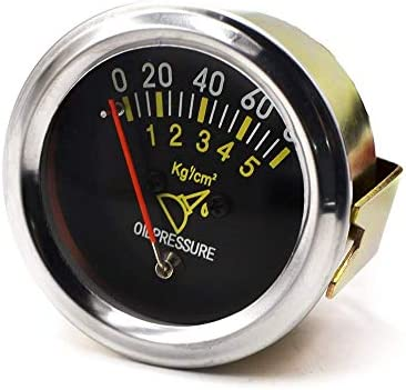 WY-WY 52ミリメートル2インチ車のトラックのボートのための機械的カー0~80 PSI油圧ゲージ自動車センサーメトリック表
