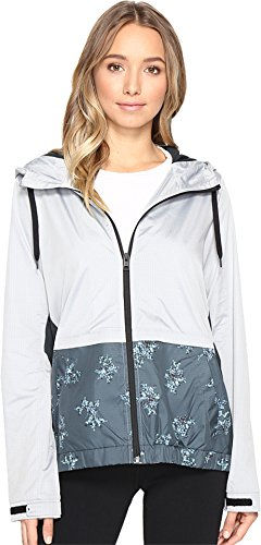 Hurley Women's Blocked Runner Jacket Seaweed Bouquet Outerwear