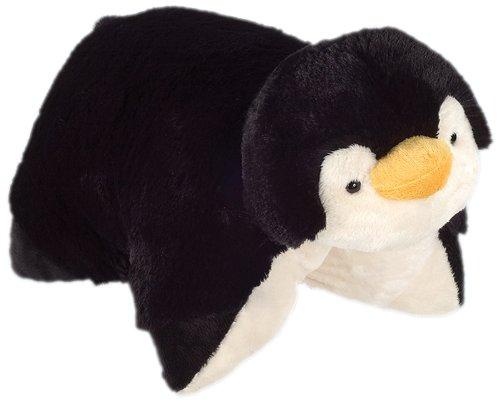 "Pillow Pets Jumboz, Penguin, 30"" Jumbo Folding Plush Pillow"