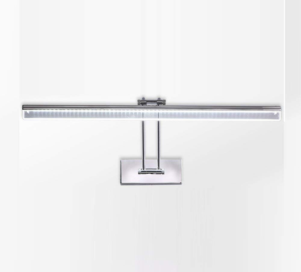 Warm Weiß-12w55cm Ali Einfache Moderne Badezimmerspiegelschrank Einstellbare LED-Spiegel Scheinwerfer (Farbe  Warmes Weiß-12w55cm)
