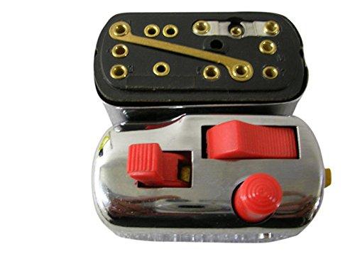 Mickey Ersatzteile vm1294/Vespa Light /& Indikatoren Schalter//Chrom Lichtschalter Schalter VESPA VNB Super etc. R