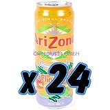Arizona Mucho Mango Tea, 23-Ounces (Pack Of 24)