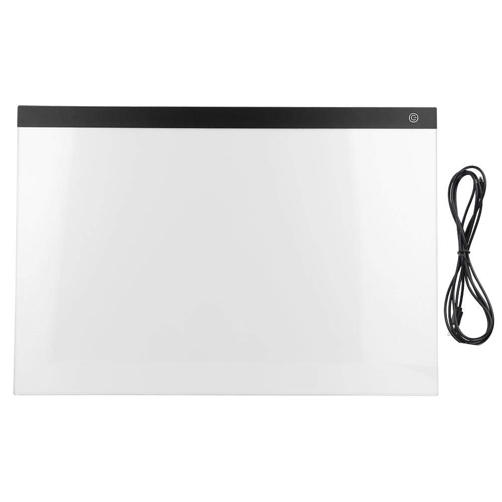 A2 LED Tracing Light Box Copy Pad Board Drawing Cable Streaming Sketching Animation Stenciling Table+USB