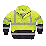 Dickies Mens Waterproof High-Visibility Two Tone Pilot Jacket / Workwear (L (Chest 44-46