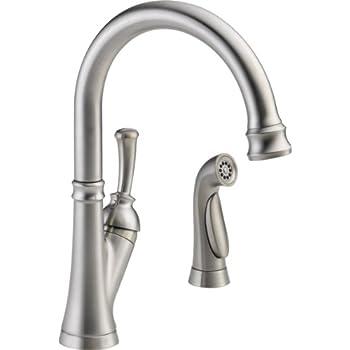 Delta Faucet 11949 Ss Dst Savile Single Handle Kitchen