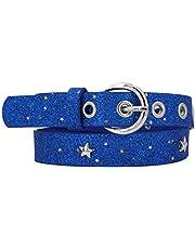 EANAGO Cinturón infantil 'Popstar' para niños de jardín de infancia y primaria, caderas 57-72 cm