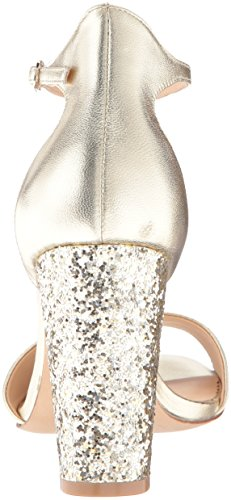 Badgley Mischka Womens Gwen Dress Sandal Platino