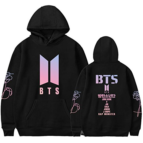 babyhealthy Kpop BTS Love Yourself Hoodie Suga Jimin V Rap-Monster Sweater Jacket Pullover
