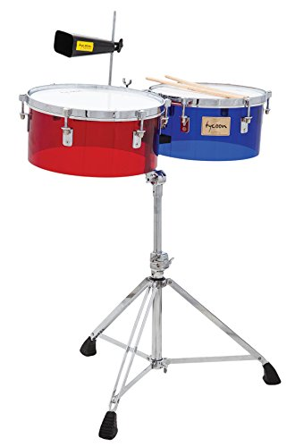 Rhythm Tech RT 5345 Timbales-Chrome w//Stand