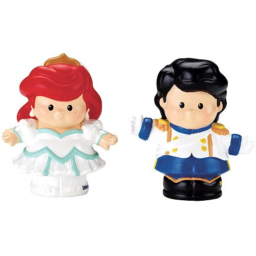 Fisher-Price Little People Disney 2 Pack: Ariel and Prince Eric Exclusive