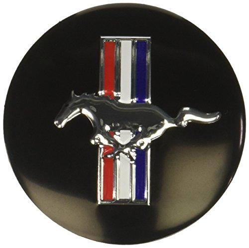 - 4pcs D028 56.5mm Emblem Badge Sticker Wheel Hub Caps Centre Cover Black Ford Mustang Cobra Jet Shelby
