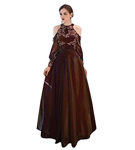 Ladies Ailin Damigella Word Home Dress Da Wedding Slim Simple A Evening Cto D'onore 1PzwTdqz