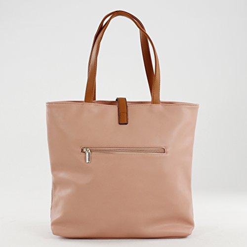 Unica Almashaeir para Bluebags Mujer Time For Shopper Bolso Fashion Rosa qqHRw8