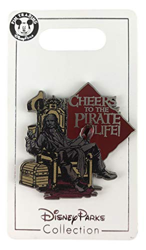 - WDW Trading Pin - Pirates of the Caribbean - Captain Jack Sparrow - Cheers to the Pirate Life