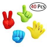 Chige Pencil Top Erasers, 40 Pack Pencil Eraser Toppers Caps, School Supplies Erasers for Kids Teachers, Best Puzzle Toys for Kids Fun and Games