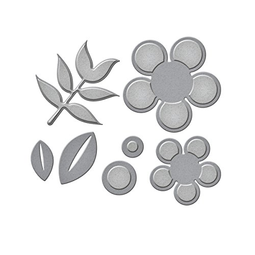 Spellbinders Die D-Lites Daisy 2 Etched/Wafer Thin ()