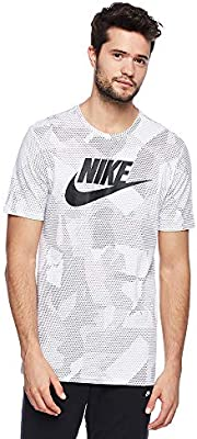 Nike printed men's t shirts, compare prices and buy online