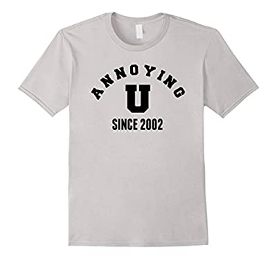 Annoying You Since 2002 Tshirt cute funny sarcastic