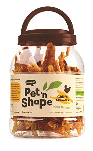 - Pet 'n Shape Chik 'n Skewers (32 oz)