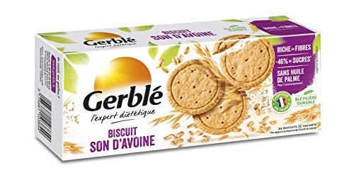 Gerblé gerblé Biscuit Oat bran 144 g, 4 x 8 Bags Biscuits – Set of 6