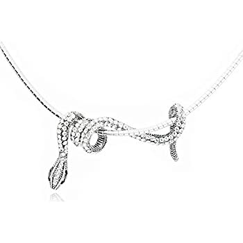 Amazon jemry and jewelry personality crystal small snake jemry and jewelry personality crystal small snake winding shape pendant necklace aloadofball Image collections