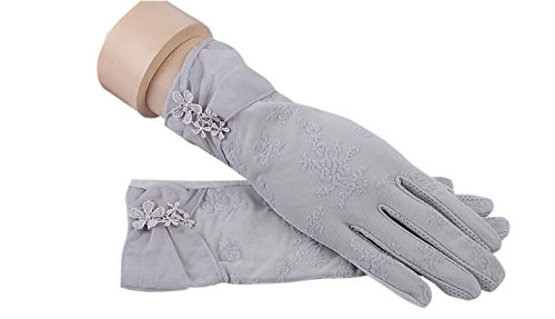 formanism エレガント 大人上品 ガーリー シックカラー 紫外線防止 UV サマー手袋 レディース