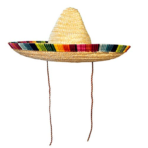 Crazy Night Mexican Sombrero Hat Adult Costume Spanish Fiesta Cinco de Mayo Festive Party,One Size -