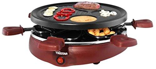 Tristar RA-2991 - Parrilla para 6 Personas, con Moldes para Creps: Amazon.es: Hogar