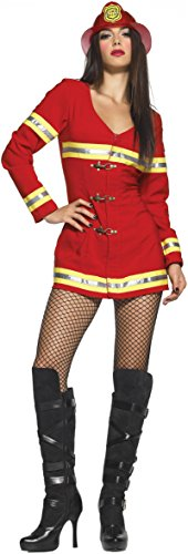 Leg Avenue Women's Firefighter Costume, Red, X-Large for $<!--$59.99-->