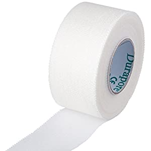 Durapore Medical Tape, Silk Tape - 1 in. x 10 yards - Each Roll