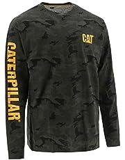 Caterpillar Mens Trademark Banner Long Sleeve T-Shirt (Regular and Big & Tall Sizes) Long Sleeve T-Shirt
