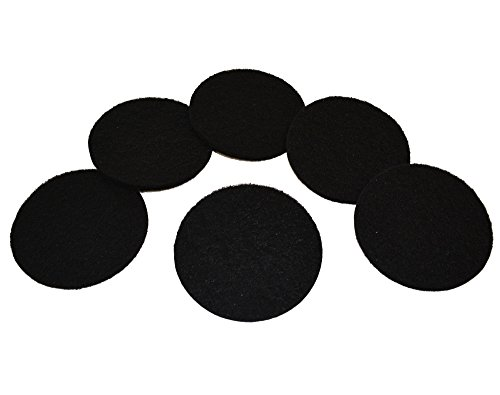 Activated Carbon Filter Pads for Eheim Classic 2213 / 250 2628130 (6 Pack)