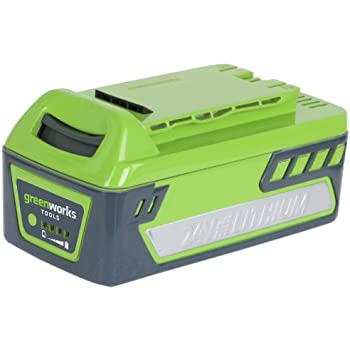Amazon.com : GreenWorks 29322 24 Volt 4 Amp-Hour Lithium
