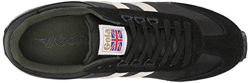 GolaBoston - Zapatillas De Deporte Para Exterior hombre Negro - Black (Black/Ecru/Green)