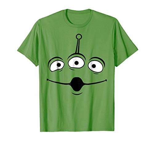 Disney Pixar Toy Story Alien Face Halloween Graphic T-Shirt -