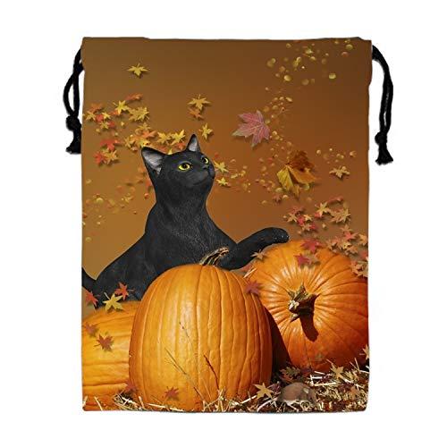 Halloween Black Cats Gym Sack Bag Sport Drawstring