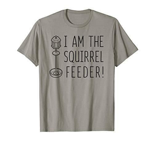 - Funny Squirrel Feeder T-Shirt, Feeding Rodent Tee Apparel