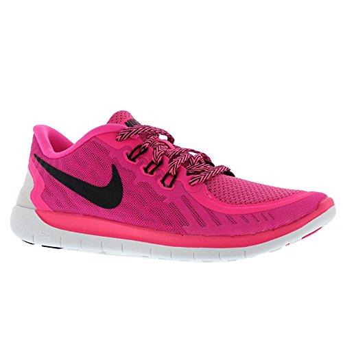 Nike-Free 5 zapatillas para niño -  - Pink (PINK POW / BLACK/VIVID PINK WHT 600)