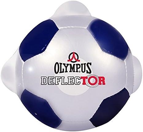 OLYMPUS Deflector Bola de Entrenamiento de Portero Blanco/Azul, 5 ...