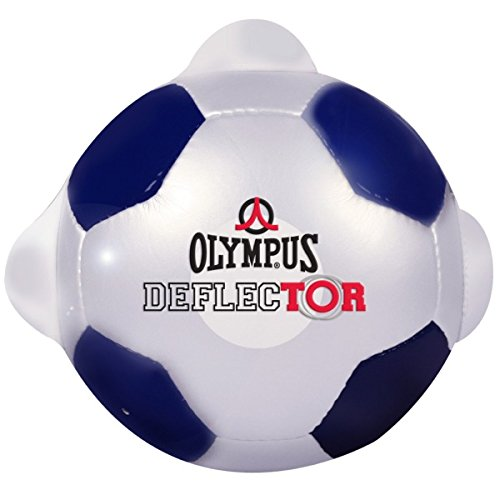 Olympus Deflector Goalkeeper Training Ball White/Blue, (Goalkeeper Training)