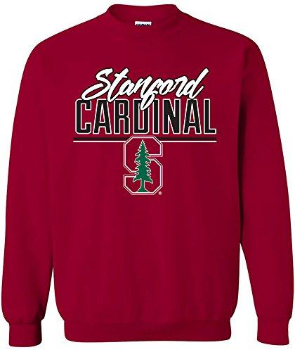 NCAA Stanford Cardinal Script Crewneck Sweatshirt, X-Large,Cardinal