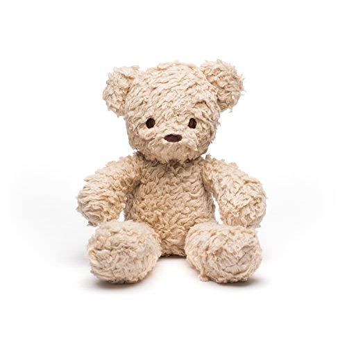Bears For Humanity Organic Sherpa Bear Plush Animal Toy, Cream, 12