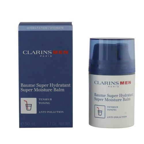 Men Super Moisture Balm by Clarins for Men - 1.7 oz Balm