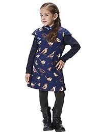 Handmade Girls Cotton Dress Overcoat Chinese Cheongsam Qipao Kids Clothing #202