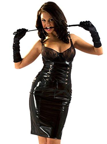 Honour Women's Skirt in PVC Black size UK 14 (L)